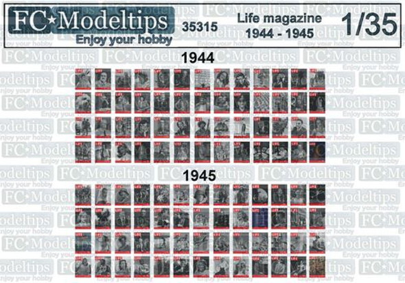Life Magazine 1944 - 1945