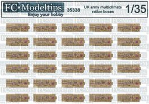 Modern english ration boxes