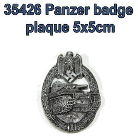 Panzer badge plaque