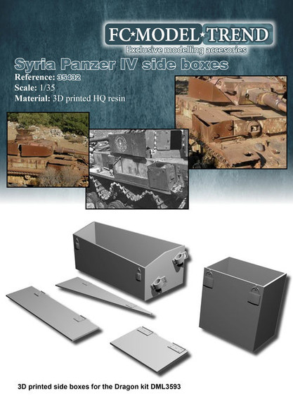 Panzer IV Syrian Boxes