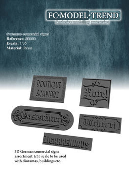 Embossed commercial posters, Germany