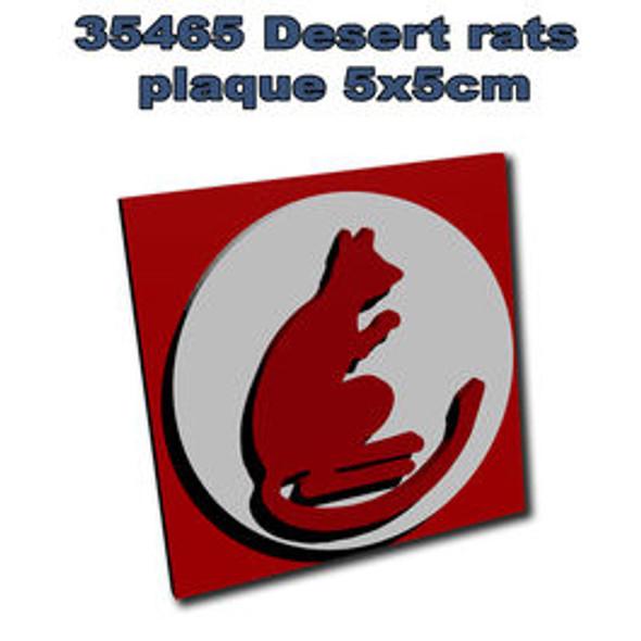 Desert rats plaque