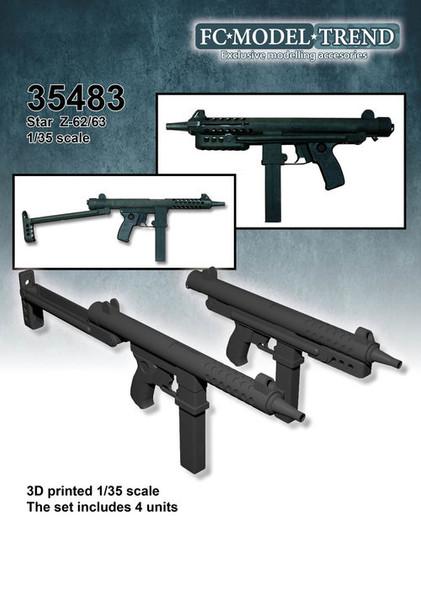 Star Z62 / 63 submachine gun,