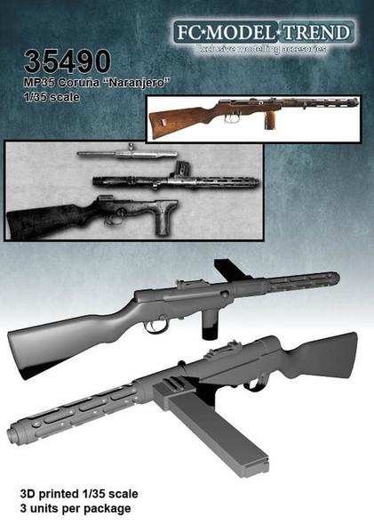 "ERMA 35 ""Naranjero"" submachine gun"
