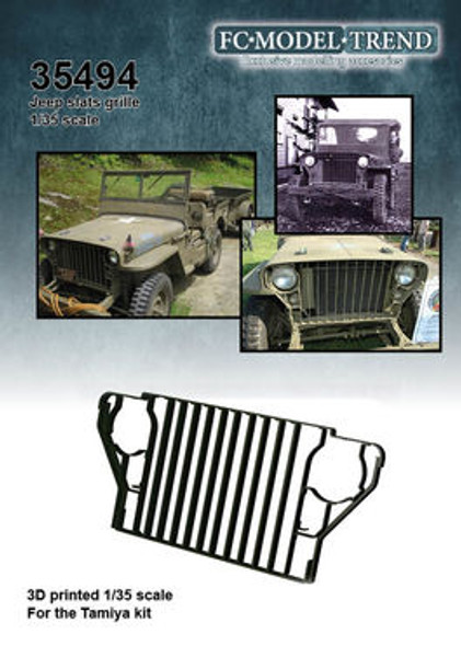 Bar grill for Willys Jeep,
