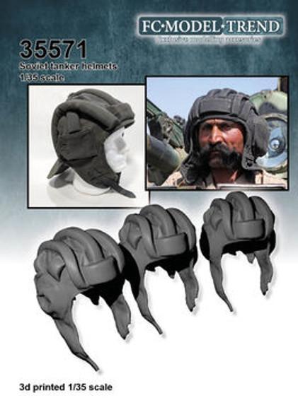Soviet tank crew helmet