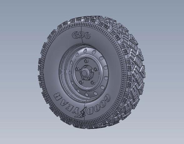Wolf W.M.I.K Aggressive Tread Pattern Wheel set