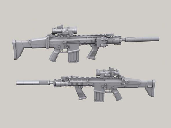 FN SCAR MK17 set