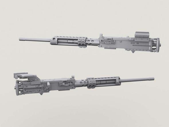 M2 HMG Body w/Surefire & Sight Mounts Replacement Set
