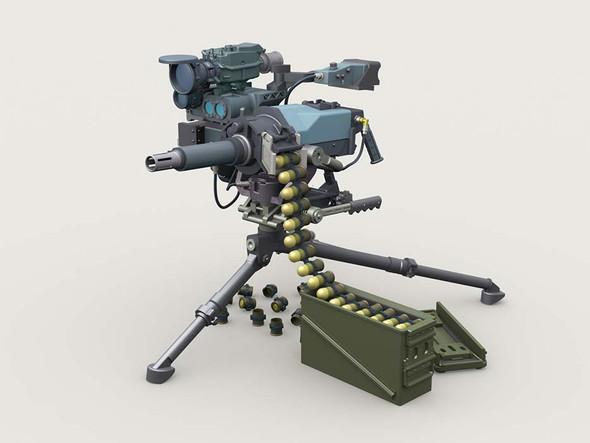 MK47 Striker 40mm AGL w ANPWG-1 Sight on Tripod