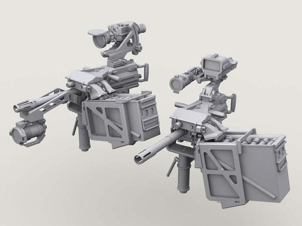Mk.19 40mm AGL on Bearing Sleeve Mount set