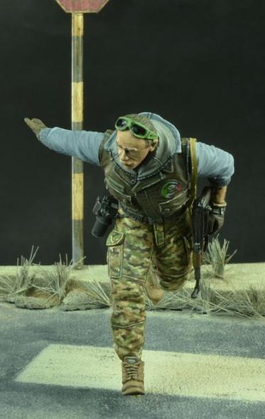 War Correspondent with AK47, Modern Times