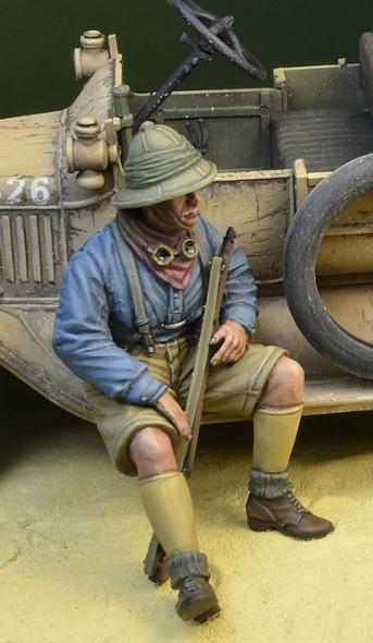ANZAC Soldier sitting