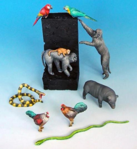 Animals Set 4 (Asian)
