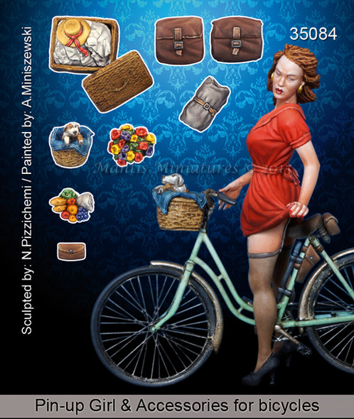 Pin-up Girl & Accessories for bicycles