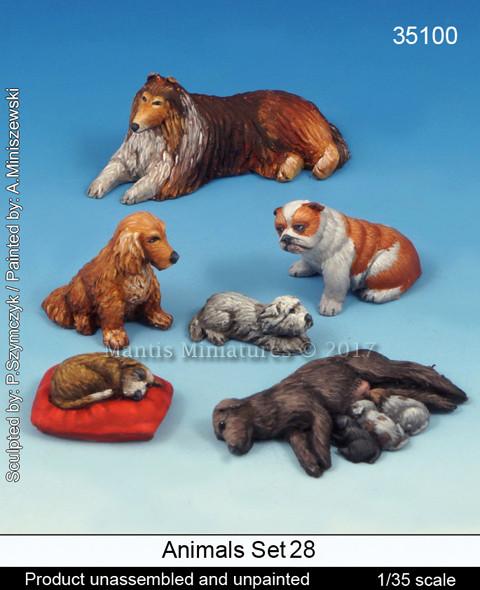 Animals Set 28 - Dogs