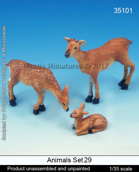 Animals Set 29 - Deer