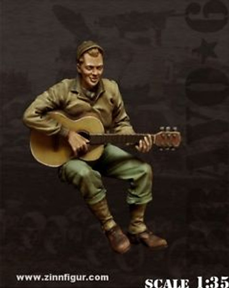 US G.I. with guitar