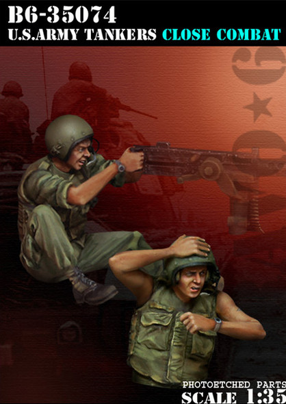 US Army Tankers Close Combat