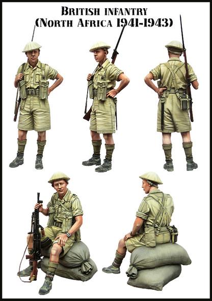 British infantry - North Afrika