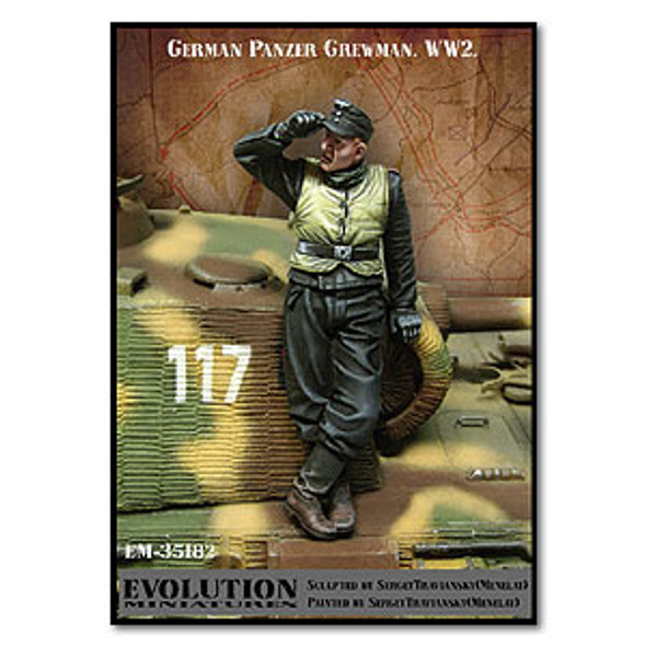 German Panzer Crewman