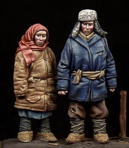 Boy & Girl WW II