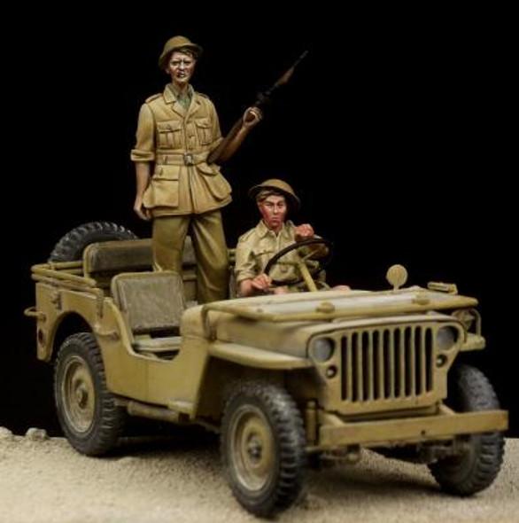 British Driver & Tommy Western Desert
