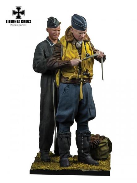 Der Adler 1940 Pilot and groundcrew 1/48