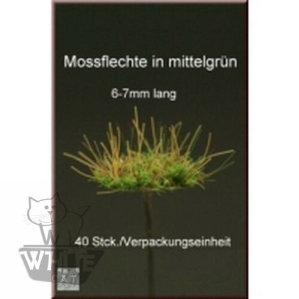 Moss Patches - mid green