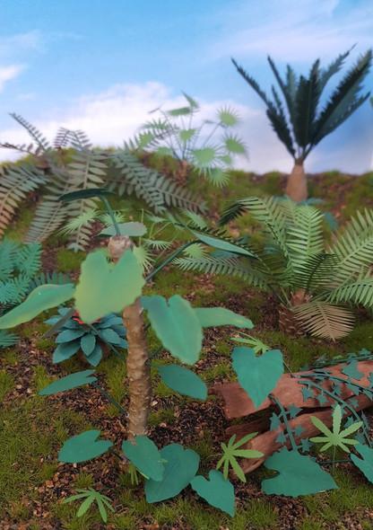 Jungle Plants Set 4