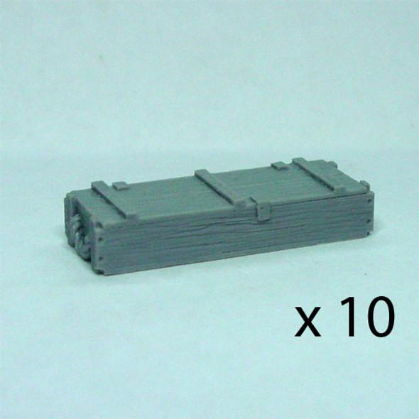 105mm ammo crates (10)