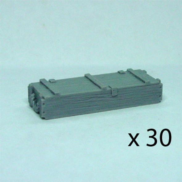 105mm ammo crates large set (30)