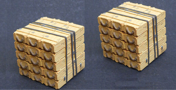 105mm Ammo Crates Aerial Delivery Pack (2 packs)