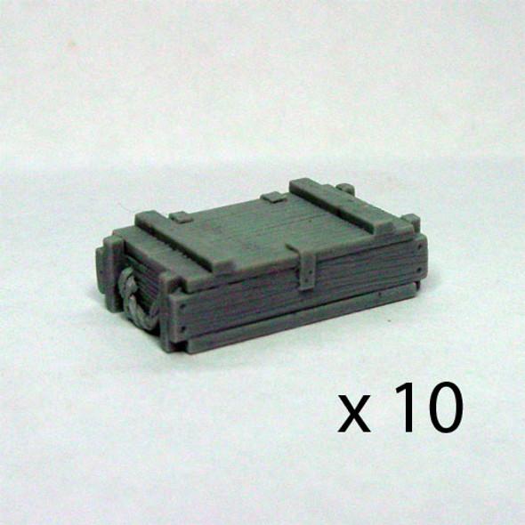 81mm Mortar crates (10)
