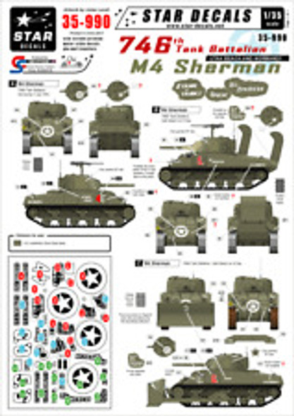 US M4 and M4A1 105mm Sherman Tanks in NWE 44-45