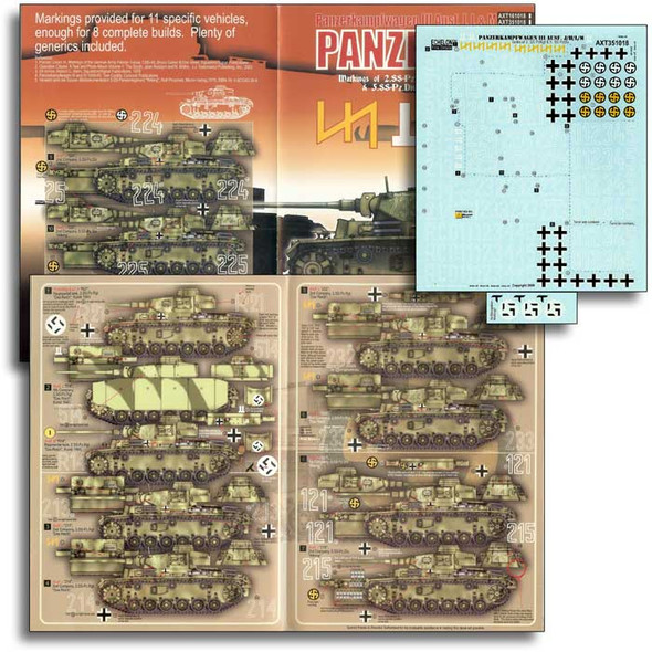 Das Reich & Wiking Panzer III Ausf J/L/Ms