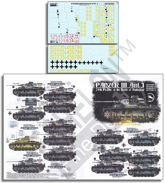 24th Pz.Div. Panzer IIIs - Battle of Stalingrad