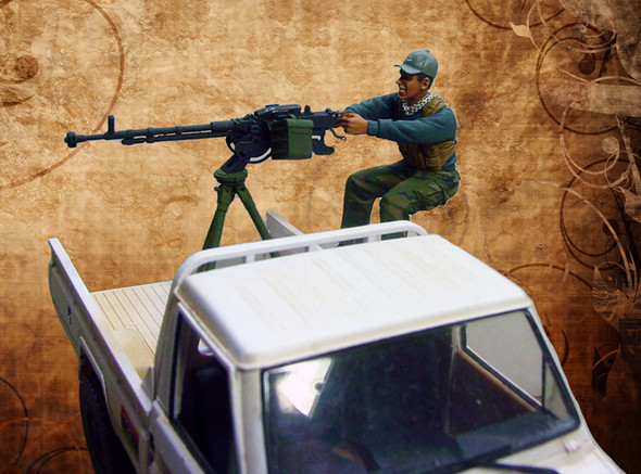 Rebel Gunner w/DShKM (incl SKP DShKM)
