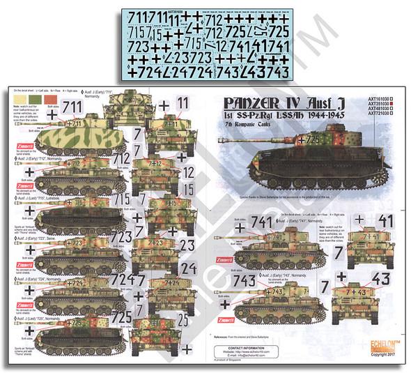 LAH Panzer IV Ausf. Js 1944-1945