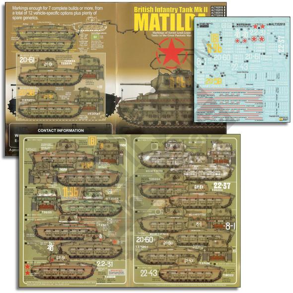 Soviet Lend-Lease Matildas