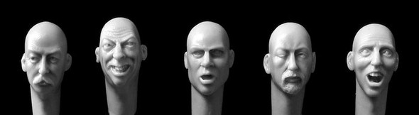 Character  Heads #4