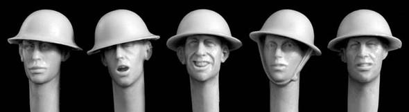 British WW1 steel helmet