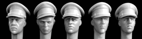 British officer's type peaked cap