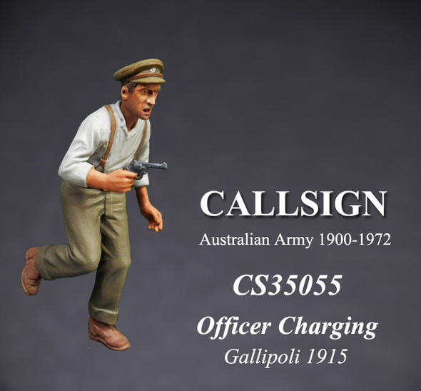 ANZAC Officer Charging