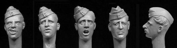 British Heads in Sidecaps WW2