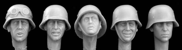 German WW2 steel helmets