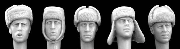 German WW2 winter caps
