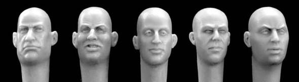 European bald heads