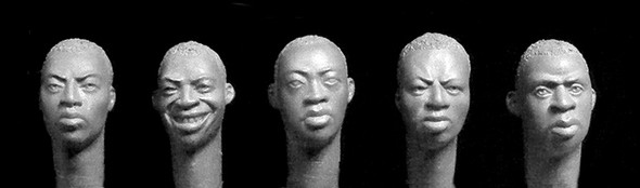 Sub Saharan African Heads