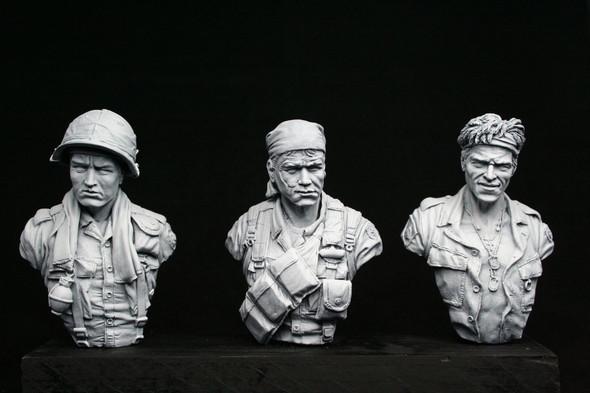 Vietnam Busts (3)